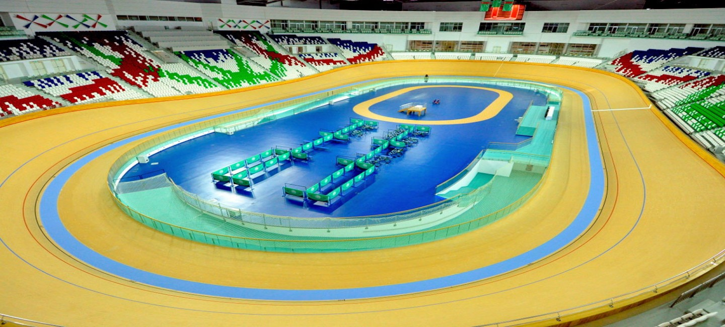 TURKMENISTAN IS PREPARING FOR THE WORLD TRACK CYCLING TOURNAMENT