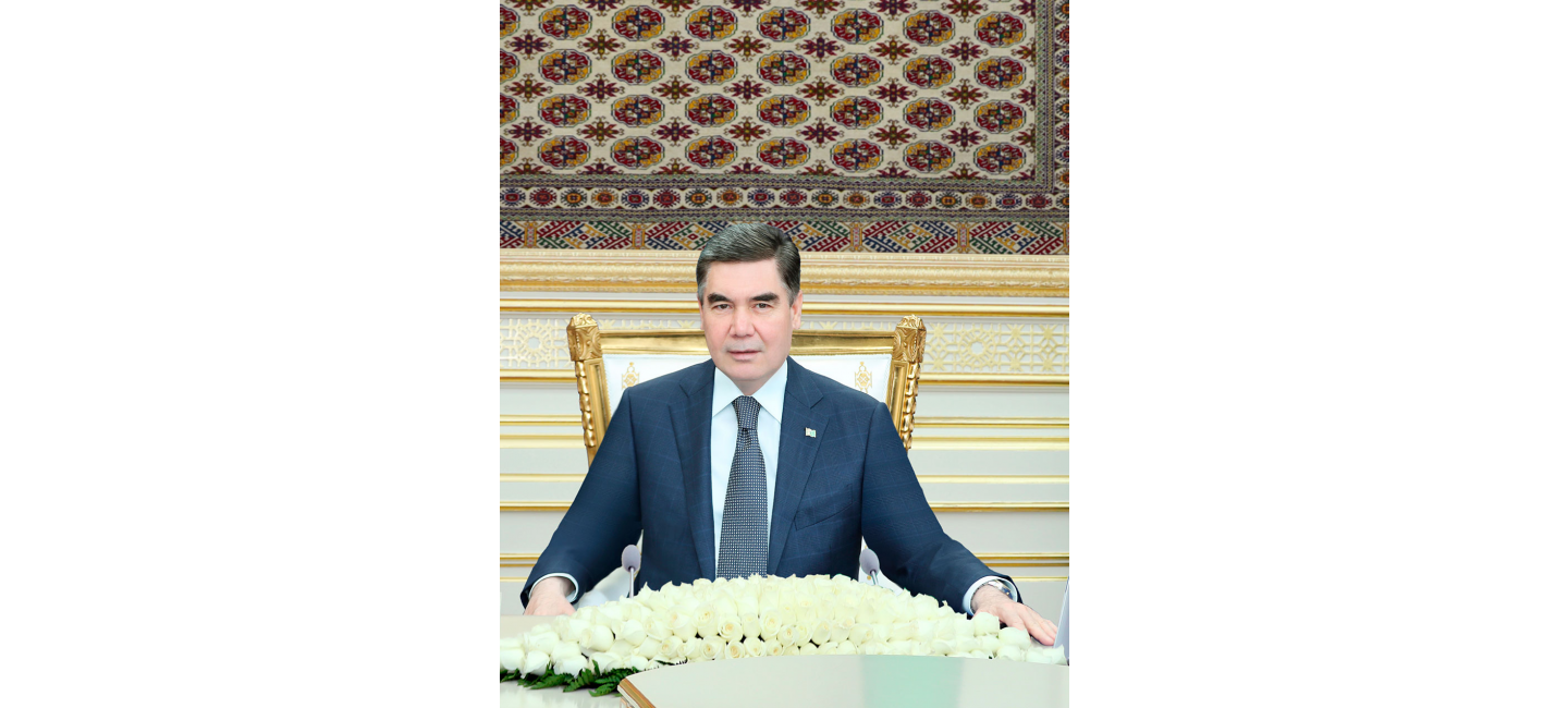 President Gurbanguly Berdimuhamedov congratulates Joko Widodo on the victory at the presidential elections
